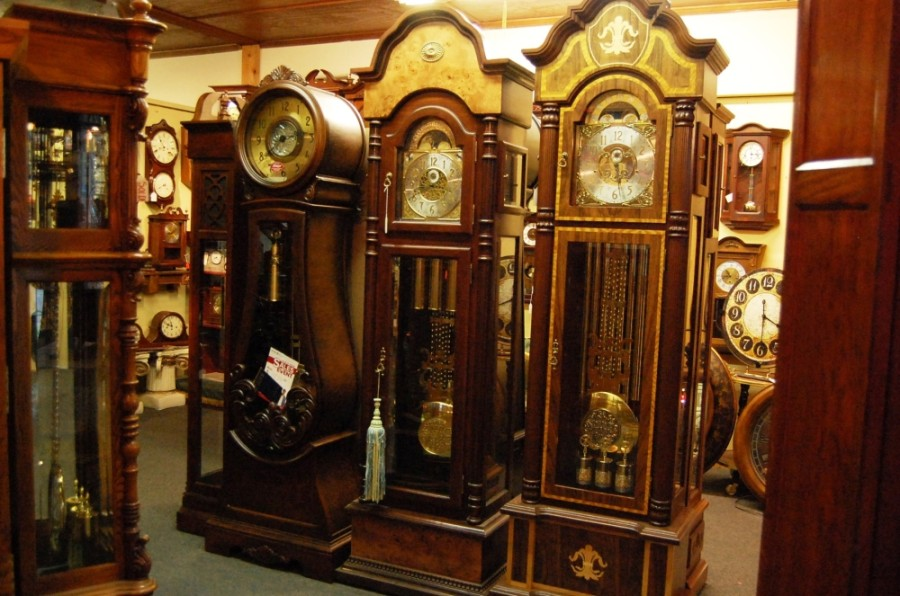 Originally located at 202 Main Street, Ste. A, in Spring, the shop's expert repair technicians and master clockmaker offer a variety of repair services for clocks. (Courtesy Moore Time)
