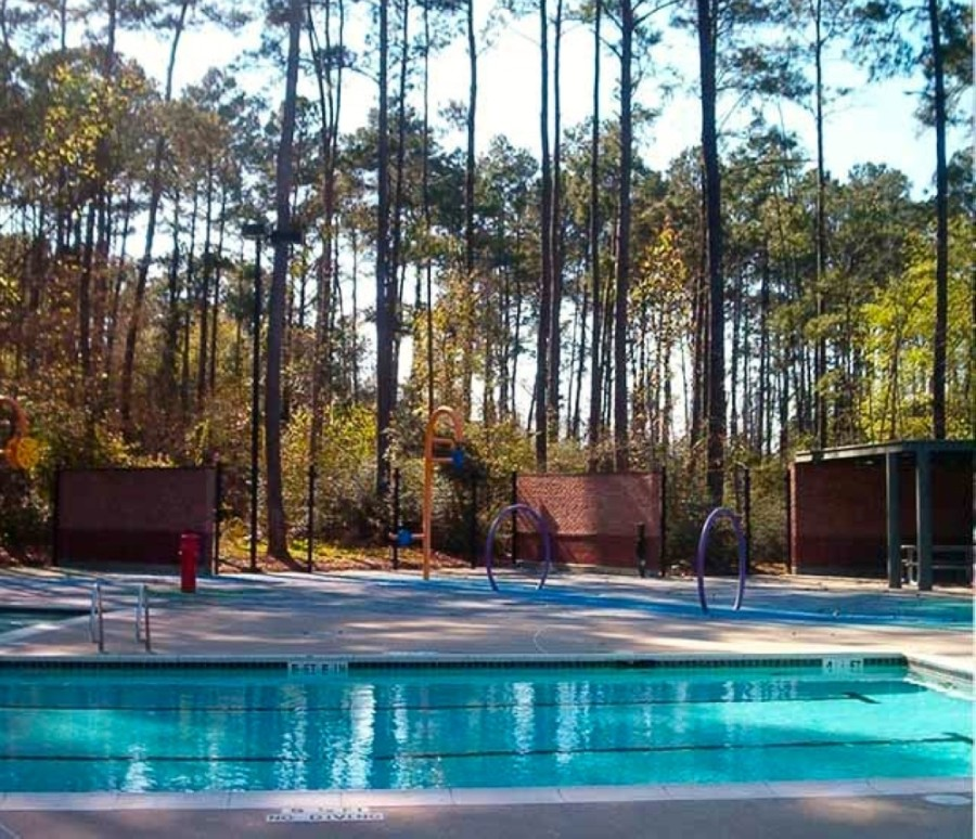 Harper's Landing Pool in The Woodlands closed July 1. (Courtesy The Woodlands Township)