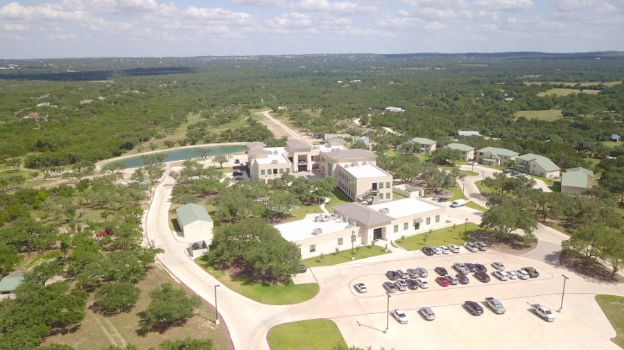 The HHS campus is located at 12395 Silver Creek Road, Dripping Springs. (Courtesy HHS)