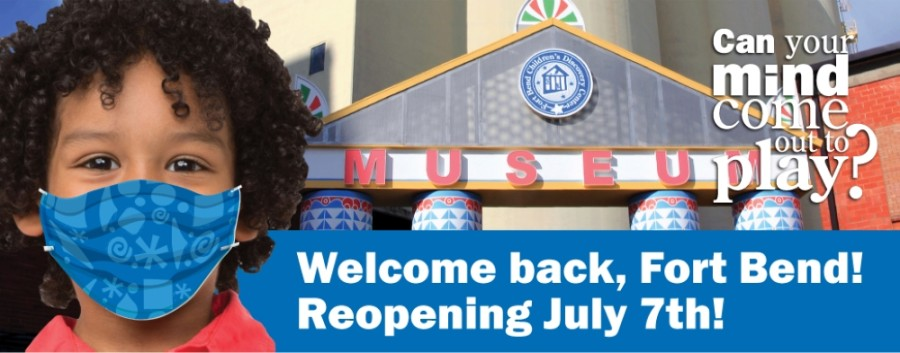 The Fort Bend Children's Discovery Center has implemented a number of measures, including mandatory mask use, ahead of its July 7 reopening. (Courtesy Fort Bend Children's Discovery Center)
