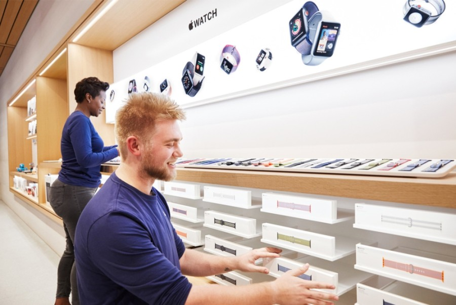 The Apple Store at Southlake Town Square will temporarily close its doors as COVID-19 cases surge throughout the state. (Courtesy Apple Inc.)