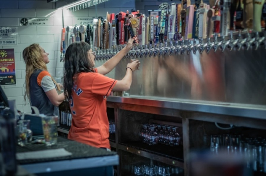 Tapped DraftHouse & Kitchen remains open as a restaurant, although dine-in capacity is back down to 50%. (Courtesy Tapped DraftHouse & Kitchen)