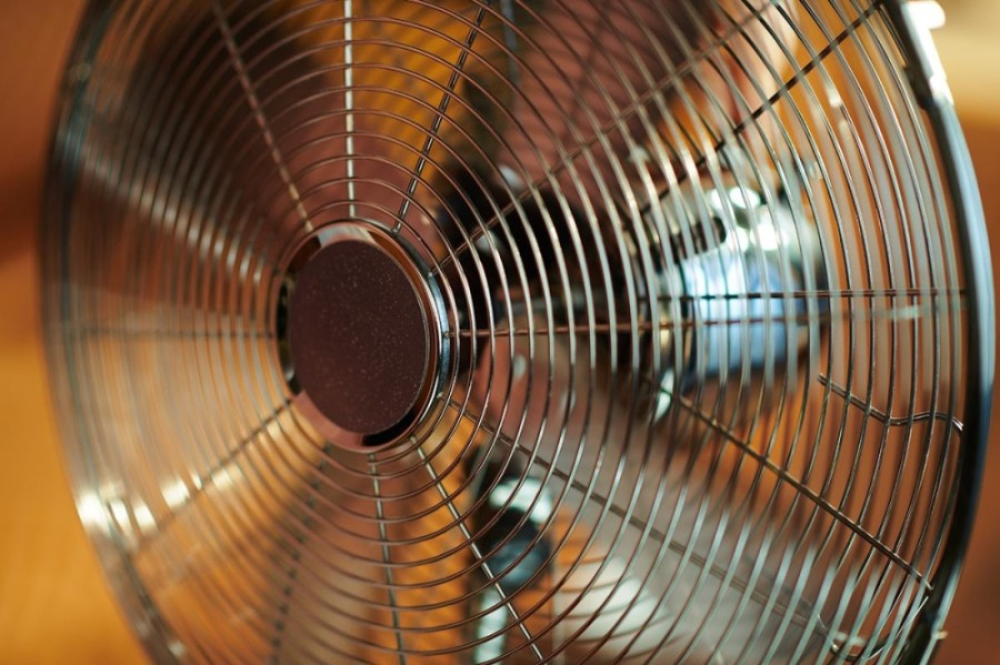 Round Rock Fire Department's Community Risk Reduction program will accept donated fans through Aug. 31 for distribution to seniors, adults with disabilities and families in need. (Courtesy city of Round Rock)