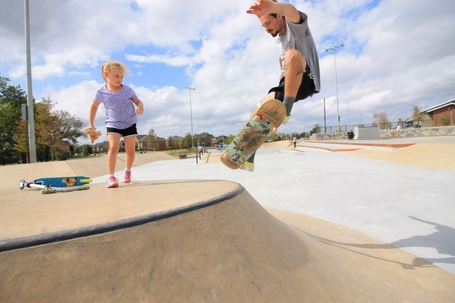 The Frisco Skate Park will host this year's Burning Boards skateboard competition on Aug. 1. (Courtesy @jarodazzarito)