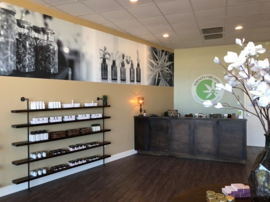 Serenity Organics opened June 6 in Missouri City. (Courtesy Serenity Organics)