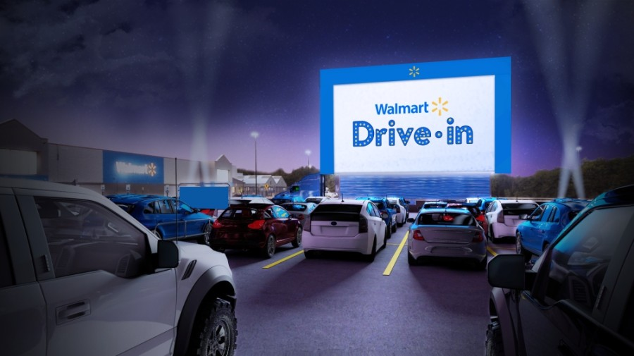 Walmart to bring drive-in movies to 160 stores nationwide in August, launch virtual summer camp