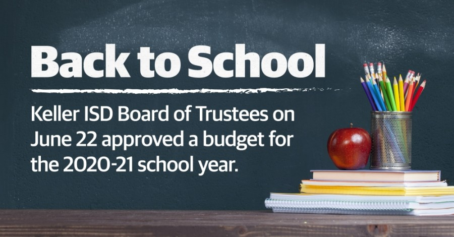 On June 22, the Keller ISD board of trustees adopted a budget of $333,476,819 for the 2020-21 school year, which represents a decrease of 1.18% from the previous year. (Katherine Borey/Community Impact Newspaper)
