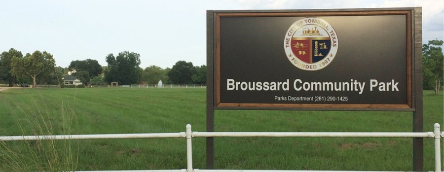 Broussard Park will host the Dynamo Dash Youth soccer program this fall. (Anna Lotz/Community Impact Newspaper)