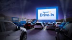 In communities across the nation, Walmart Supercenter parking lots will be transformed into contact-free, drive-in movie theaters beginning in August. (Courtesy Walmart)