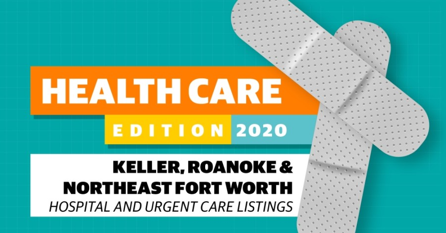 Here is a noncomprehensive list of hospitals, urgent care clinics and emergency rooms in or near Keller, Roanoke and Northeast Fort Worth. (Designed by Community Impact staff)