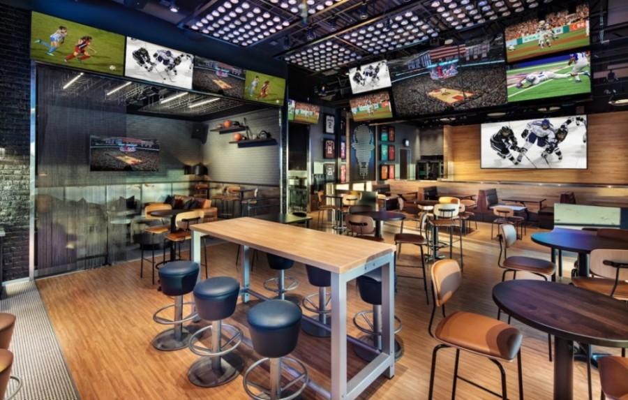 Buffalo Wild Wings interior design