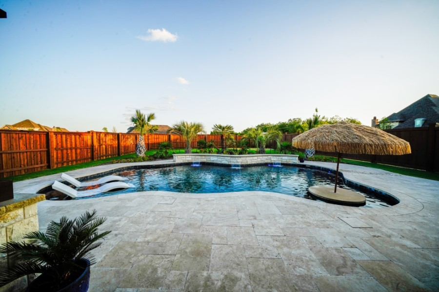 Texas Traditions Outdoors specializes in designing pools and outdoor living spaces. (Courtesy Texas Traditions Outdoors)