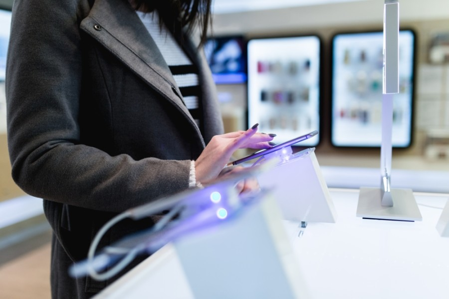The mobile phone store offers brands such as Apple, Samsung, LG and Sprint. (Courtesy Adobe Stock)