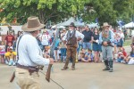 Lewisville's annual Western Days event, which includes gunfight reenactments, has been canceled this year due to budget and safety concerns related to the coronavirus. (File photo courtesy Michael Nguyen)