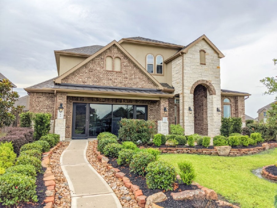 This $382,000 D.R. Horton home is 3,254 square feet. (Jake Magee/Community Impact Newspaper)
