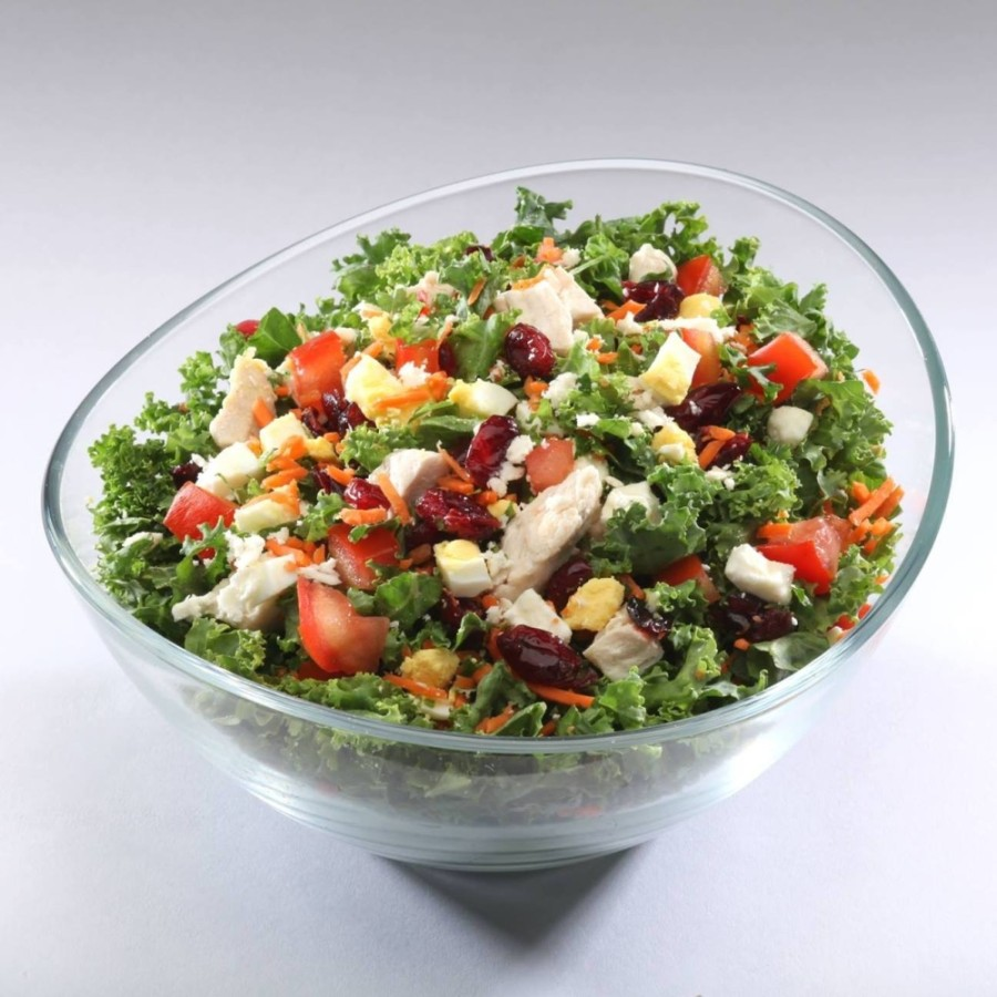 "The salad restaurant chain offers a variety of salads, or ""chops,"" with several toppings. (Courtesy Chop Stop)"
