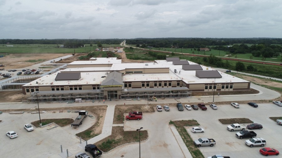 Grand Oaks Elementary School will open in August and will accommodate 900 students. (Courtesy LAN)