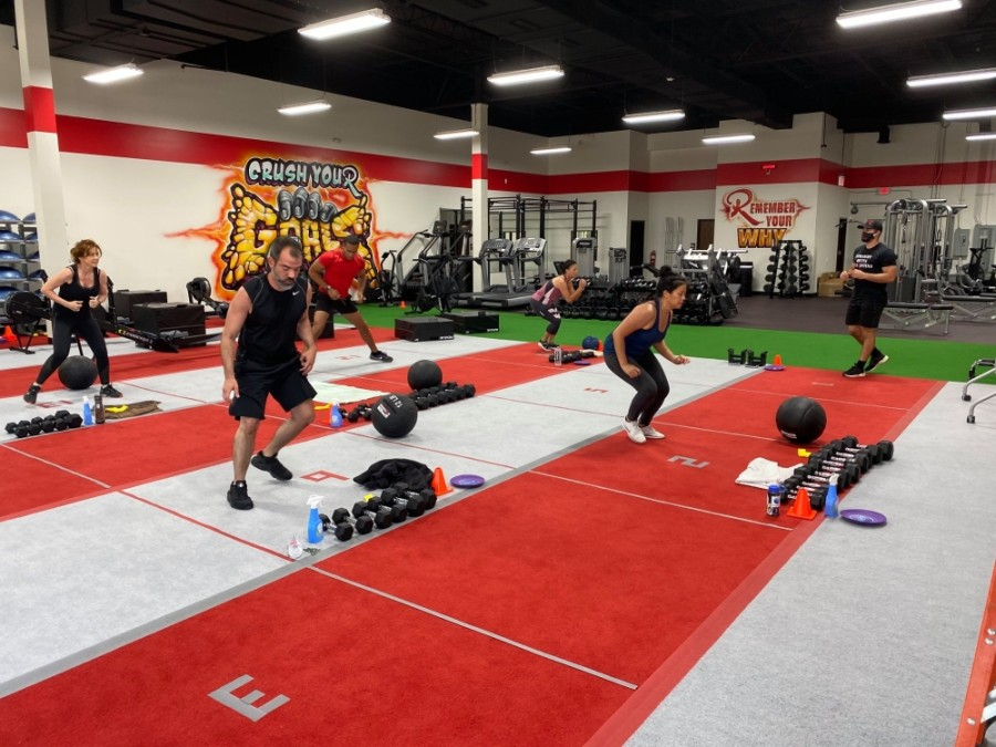 The gym offers high-intensity training and a strength training program conducted in small groups. (Courtesy Raw Fitness)