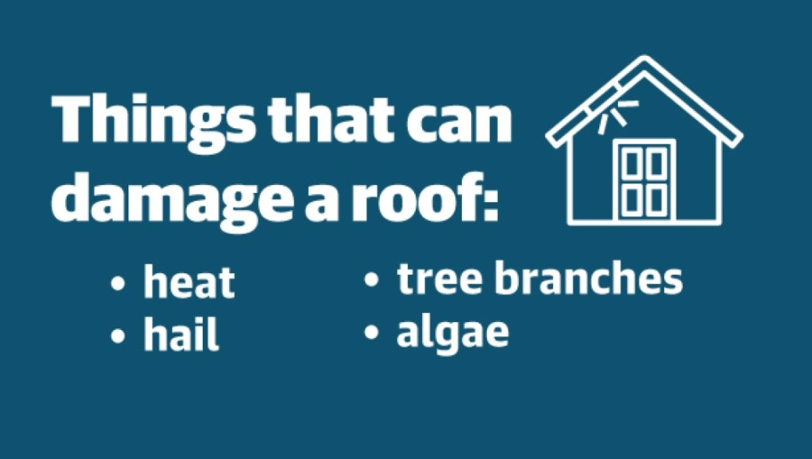 The extreme heat in Houston plays a major role in the lifespan of a house's roof. (Jeff Wohrer; Community Impact staff)
