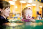 Emler Swim School's Emler@Home curriculum features instructional videos for teaching children how to swim at home or in a local pool. (Courtesy Emler Swim School)