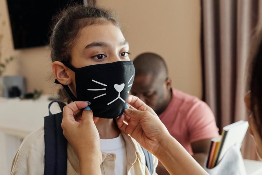 mask child student