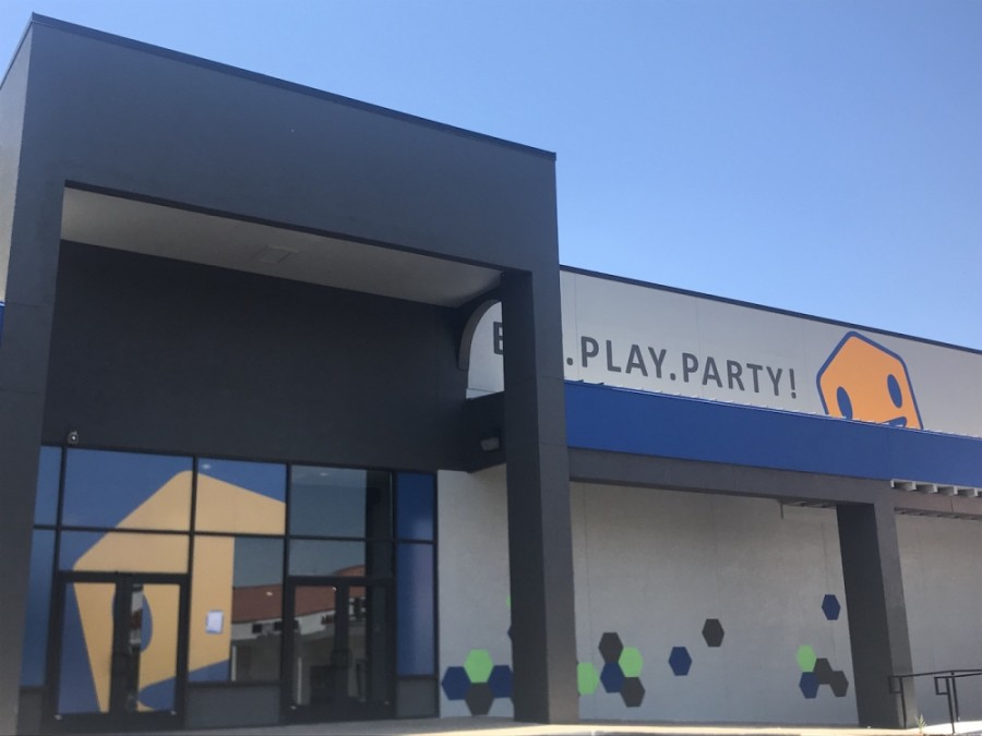 A photo of the exterior of Epic Fun