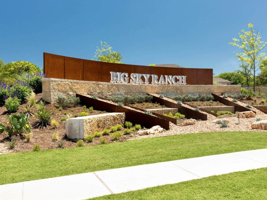 Big Sky Ranch community sign