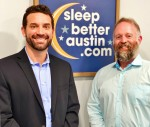 From left: Dentists Brandon Hedgecock and Max Kerr operate Sleep Better Austin, a practice treating patients with sleep apnea using oral appliance therapy. (Courtesy Sleep Better Austin)