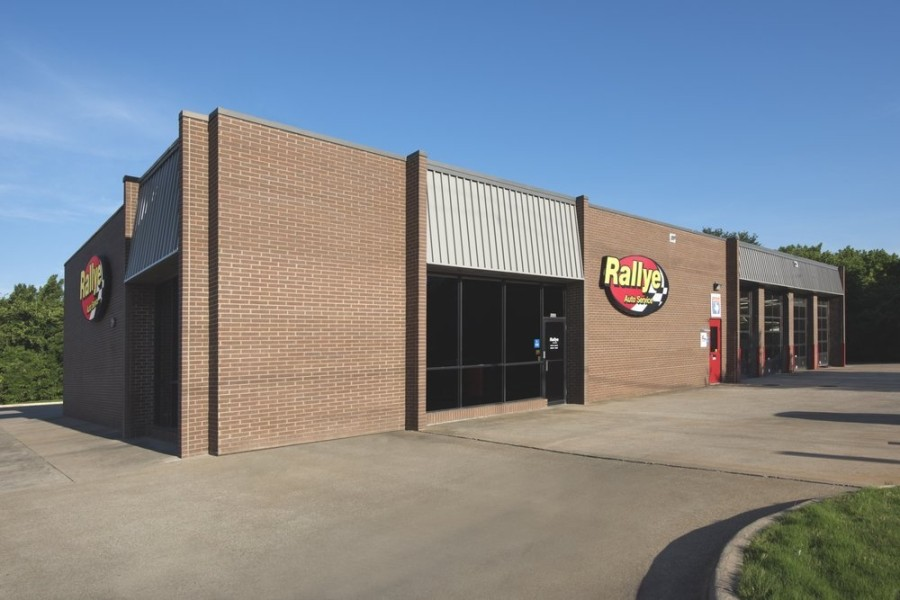 The business has another location on Hillcrest Road in Dallas. (Courtesy Rallye Auto Service)