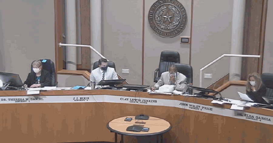 Dallas County commissioners agreed to contribute partial funding to the study at a July 10 meeting. (Courtesy Dallas County)