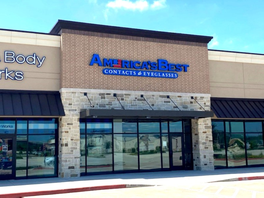 America's Best Contacts & Eyeglasses, a discount eyewear and eye examination provider, opened June 26 in Valley Ranch Town Center. (Courtesy Signorelli Co.)