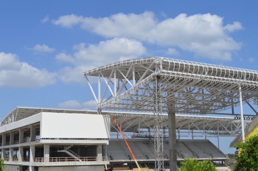 Austin FC stadium under construction