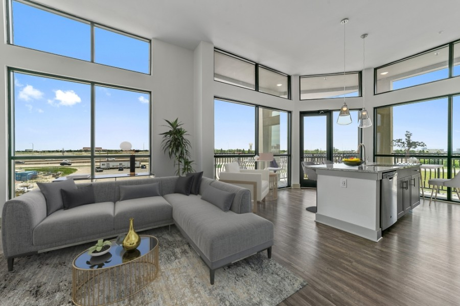 The residential community to be located at The Gate development will offer one-, two- and three-bedroom apartments. (Courtesy Lucia)