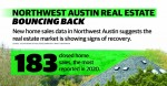 Following two straight months of diving home sales across Northwest Austin, the real estate market is showing signs of recovery, new data shows. (Designed by Mel Stefka/Community Impact Newspaper)