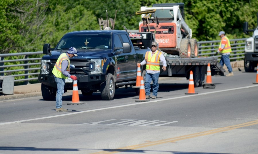 Drivers should prepare for a detour along SH 130 near Pecan Street this weekend. (John Cox/Community Impact Newspaper)