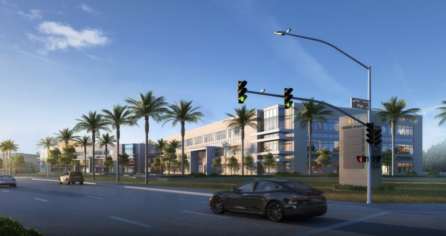 Douglas Allred Co. recently broke ground on two additional office buildings at their Park Place Development on Price Corridor, according to a news release from the city of Chandler. (Courtesy city of Chandler)