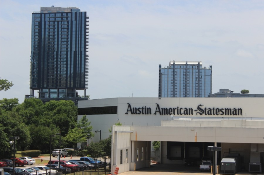 The Austin American-Statesman will move its offices from South Congress Avenue to the Met Center in Southeast Austin in 2021. (Jack Flagler/Community Impact Newspaper)