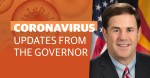 Gov. Doug Ducey announced at a press conference July 16 that the state will extend its eviction moratorium until Oct. 31; he also encouraged Arizonans to continue to wear a mask and stay home to curb the spread of COVID-19. (Community Impact staff)