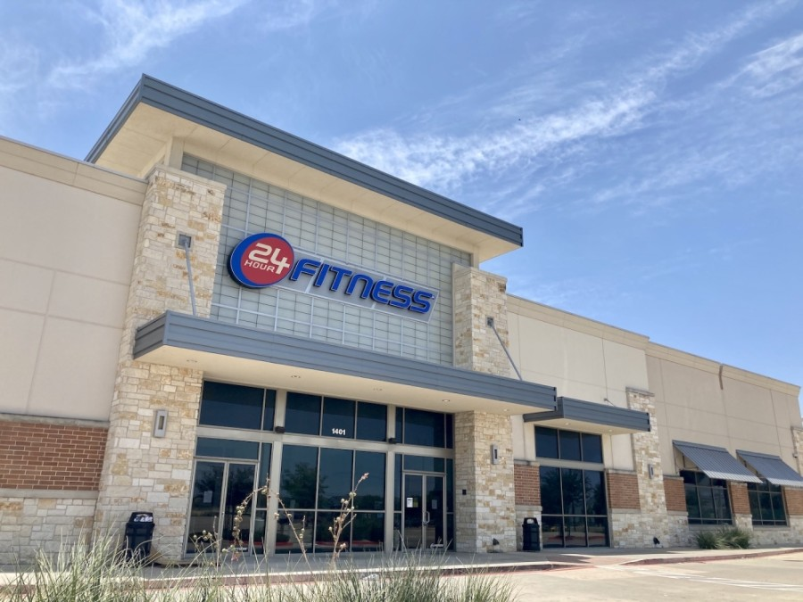 The gym was located in Stone Hill Town Center at 1401 Town Center Drive, Pflugerville. (Taylor Jackson Buchanan/Community Impact Newspaper)