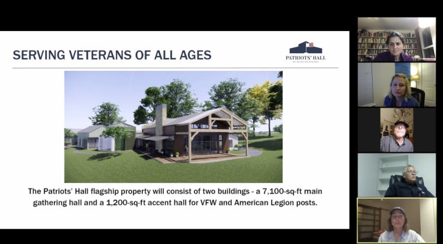 Drippings Springs City Council learned about the Patriot's Hall development at a meeting held over Zoom on July 14. (Courtesy city of Dripping Springs)