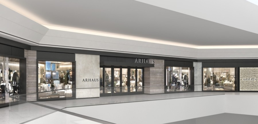 Arhaus will open inside The Mall at Green Hills in late July. (Rendering courtesy Arhaus)