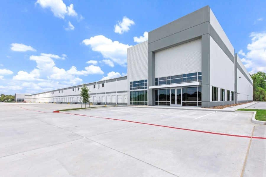 Construction wrapped up in June on the Telge 290 Logistics Center at Cypress North Houston and Telge roads in Cy-Fair, making it one of several industrial projects added to the market over the past year. (Courtesy Archway Properties)