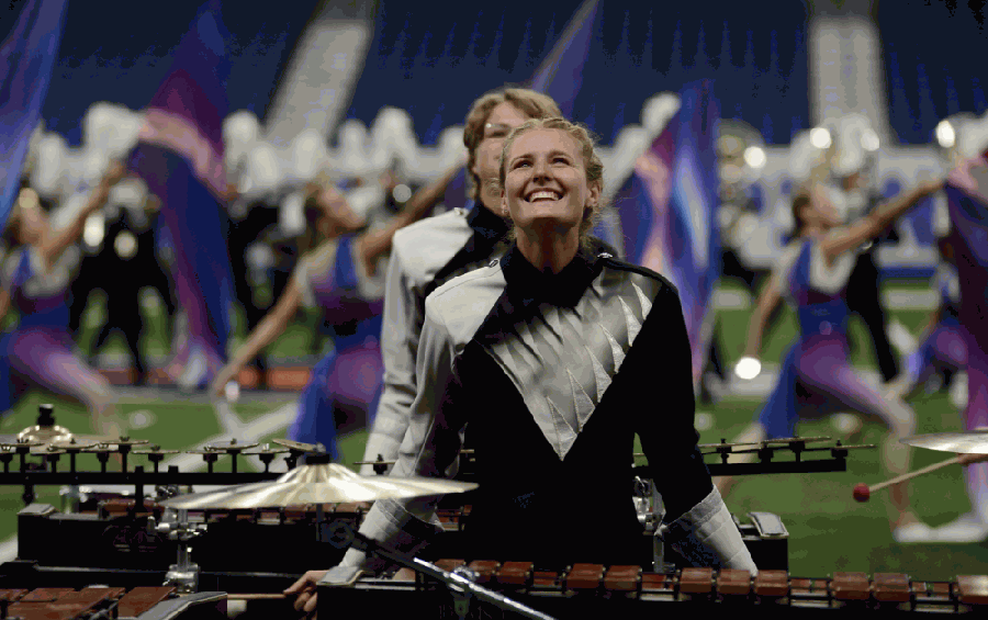 The Vandegrift High School band is pictured in this 2018 file photo. (Courtesy Leander ISD)