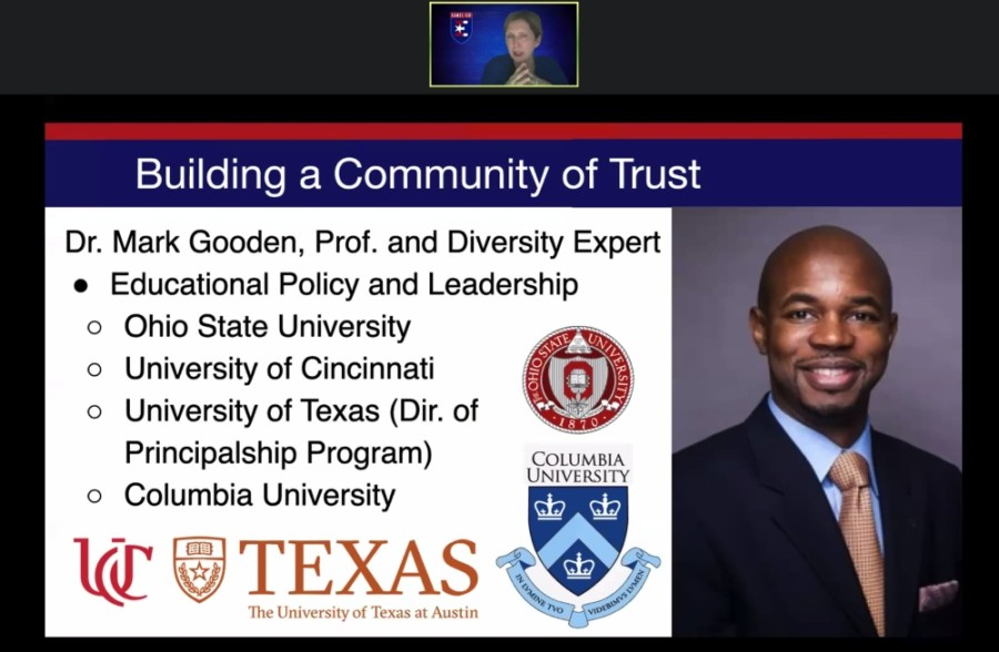 Eanes ISD trustees approved Dr. Mark Gooden's contract during a July 21 board meeting. (Courtesy Eanes ISD)