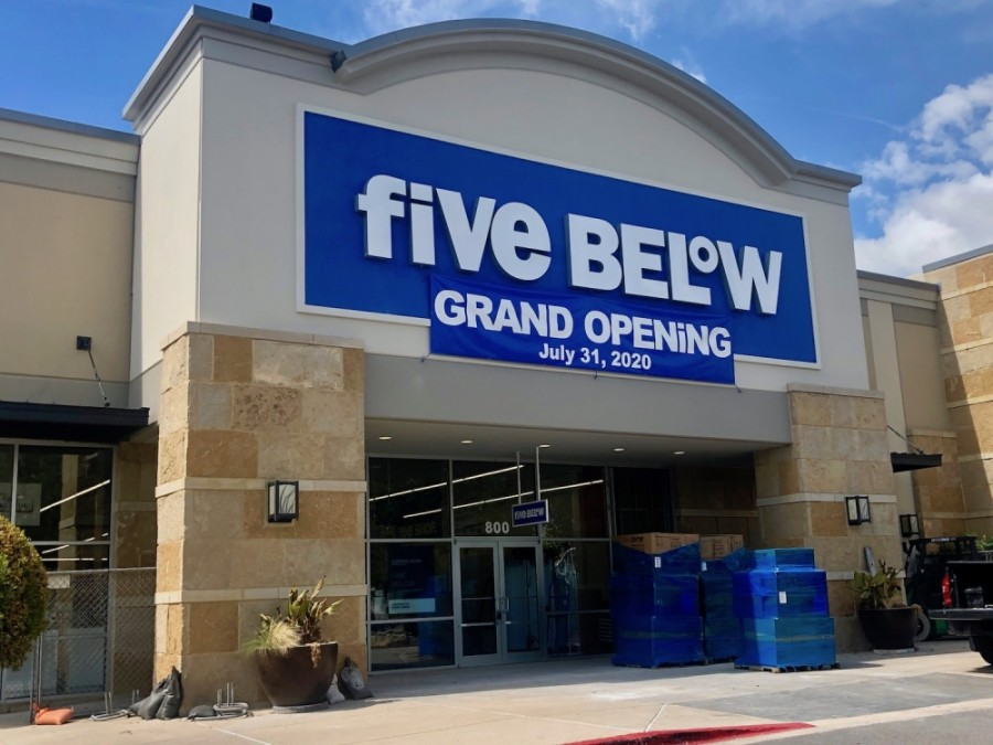 The new Five Below will be located at 1019 W. University Ave., Ste. 800, Georgetown. (Sally Grace Holtgrieve/Community Impact Newspaper)