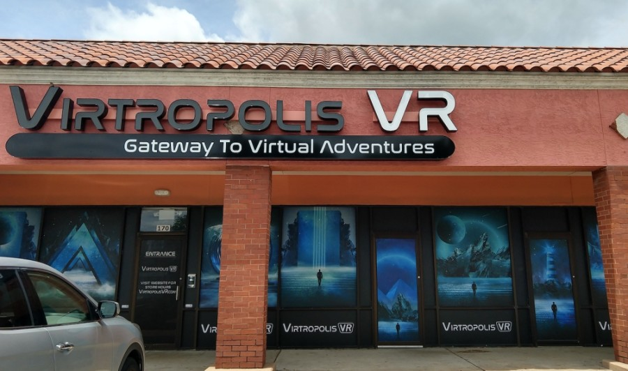 Virtropolis VR, an escape room concept played in a virtual reality setting, opened June 15. (Courtesy Virtropolis VR)