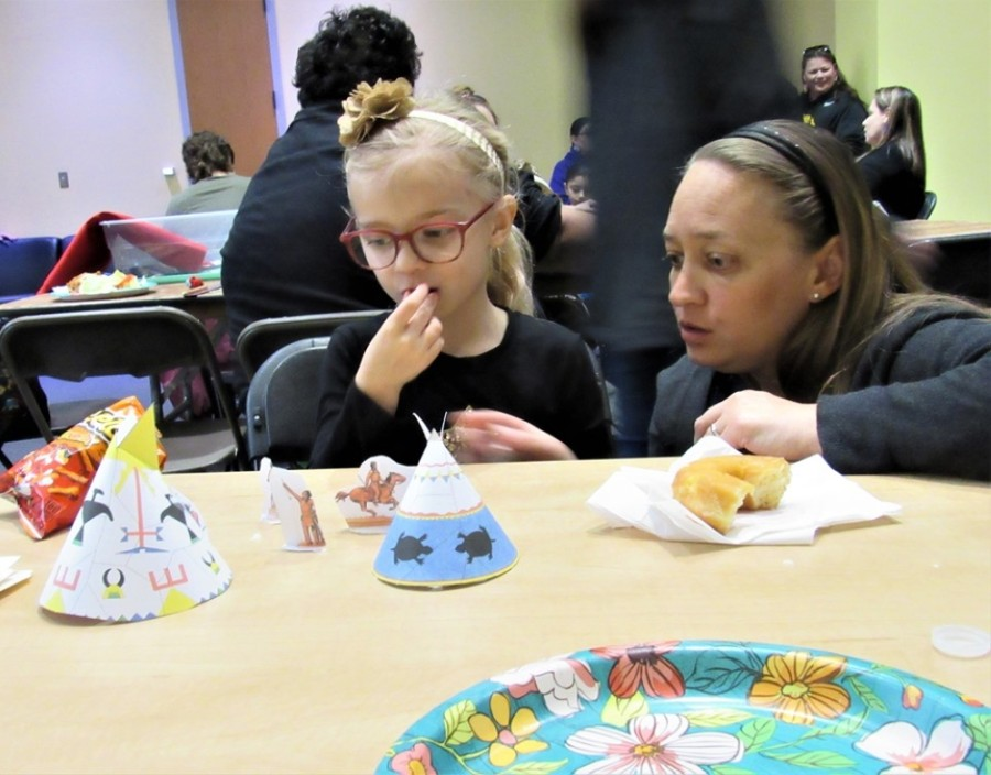 Southeast Georgetown Community Council hosts several community events, including a Native American Culture Day Potluck in February. (Courtesy Southeast Georgetown Community Council)
