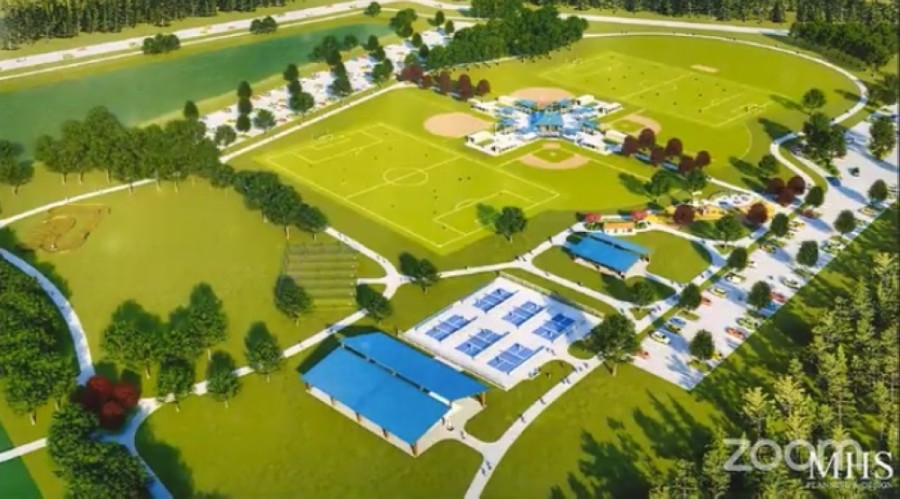 It would cost the city of Missouri City $10.5 million to redevelop Sta-Mo Sports Complex. (Screenshot courtesy city of Missouri City)