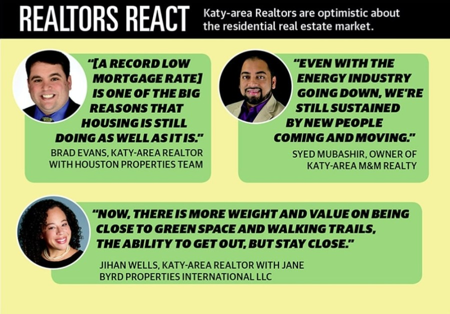 Katy Residential Real estate lead July 2020
