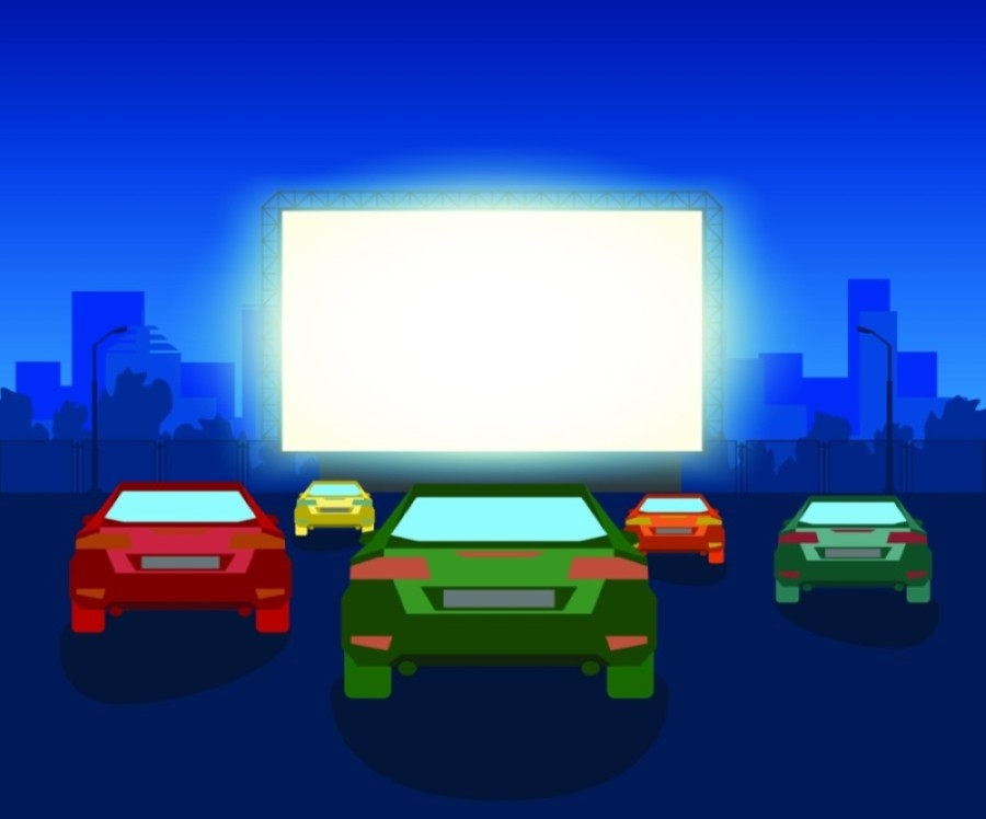 The drive-in theater is slated to open July 24. (Courtesy Adobe Stock)